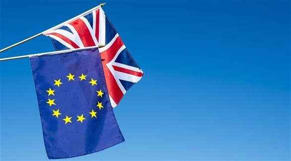 علم بريطانيا والاتحاد الأوروبي (شترستوك)