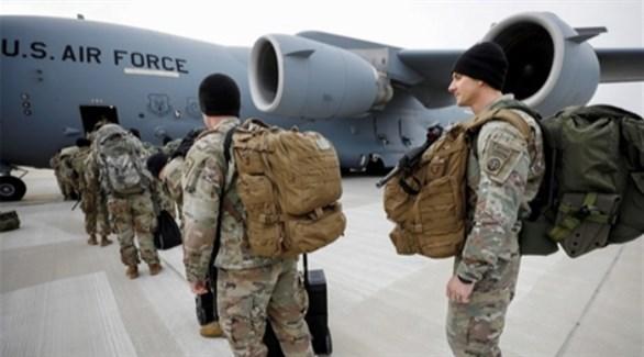 جنود من الجيش الأمريكي ينسحبون من أفغانستان (أرشيف)