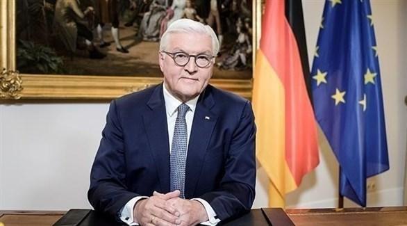 الرئيس الألماني فرانك فالتر شتاينماير (أرشيف)