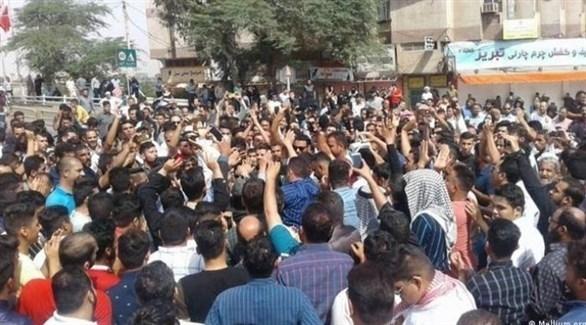 مظاهرات ضد النظام الإيراني في الأحواز (أرشيف)