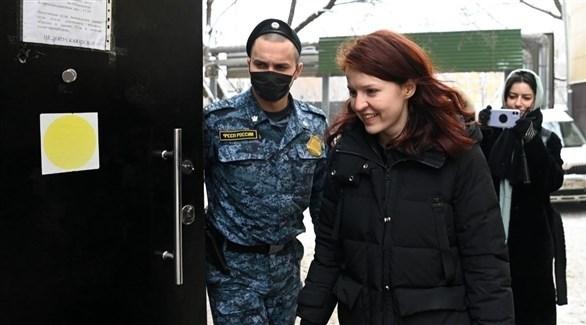 المتحدثة باسم المعارض الروسي نافالني، كيرا يارميش (أرشيف)