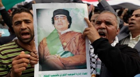 ايس السابق لليبيا معمر القذافي (أرشيف)