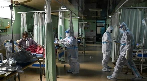 الهند تسجل 35342 إصابة جديدة بكورونا