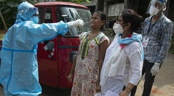 الهند تسجل 39742 إصابة و535 وفاة جديدة بكورونا