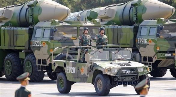 صواريخ صينية خلال عرض عسكري (أرشيف)