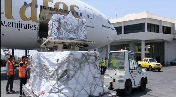 تفريغ لقاحات موديرنا ضد كورونا اليوم في مطار تونس قرطاج (الرئاسة التونسية)
