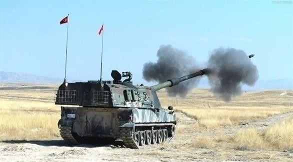 دبابة تركية في هجوم بري على قرى كردستان العراق (أرشيف)