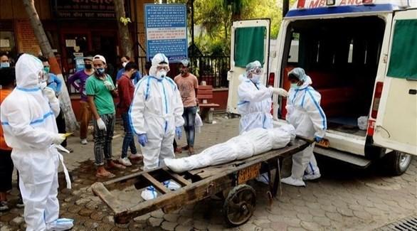 الهند تسجل 44230 إصابة جديدة بفيروس كورونا