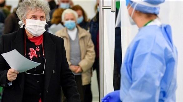 مركز لتوزيع اللقاح ضد كورونا في إيطاليا (أرشيف)