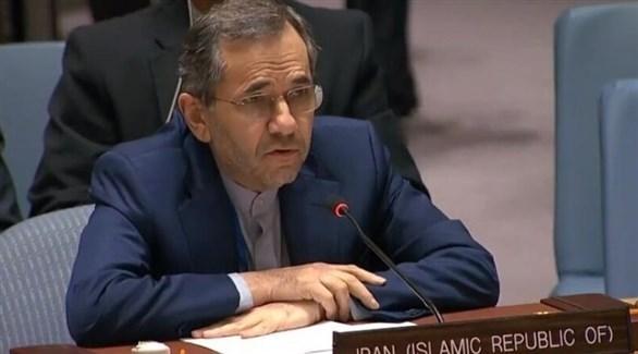 مبعوث إيران لدى الأمم المتحدة مجيد تخت روانجي (أرشيف)