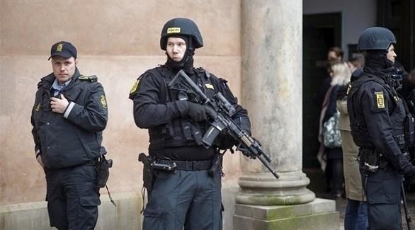 عناصر من الشرطة الدنماركية (أرشيف)
