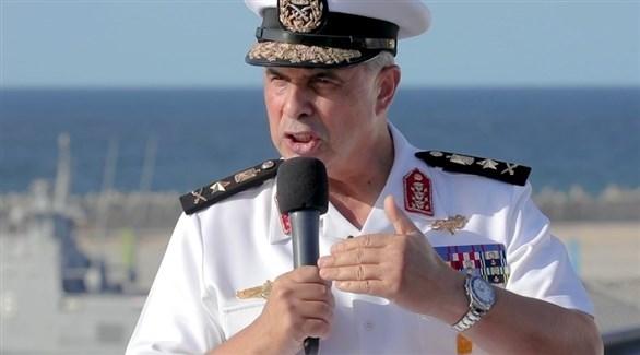 قائد القوات البحرية المصرية الفريق أحمد خالد (أرشيف)