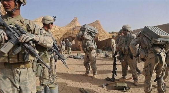 عدد من القوات الأمريكية في أفغانستان (أرشيف)