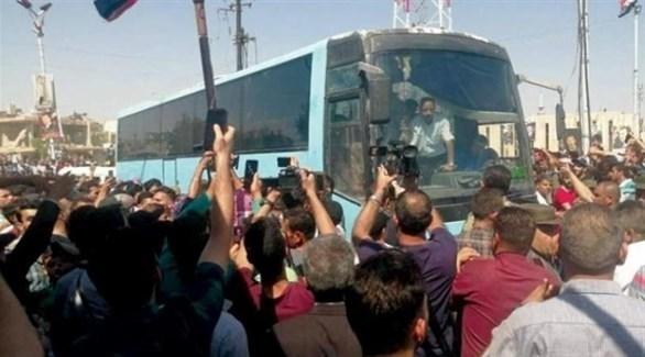 الإفراج عن دفعة من الموقوفين من الغوطة الشرقية (أرشيف)