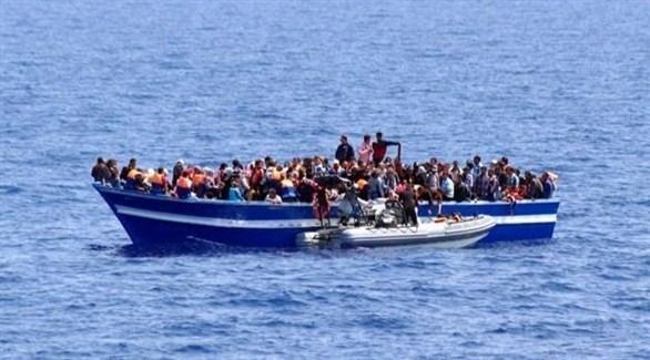 مهاجرون غير شرعيين في البحر المتوسط (ارشيف)
