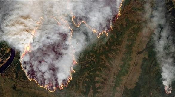 الحرائق تلتهم غابات روسيا (أرشيف)
