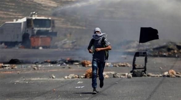 مواجهات بين فلسطينيين والجيش الإسرائيلي  في نابلس (أرشيف)