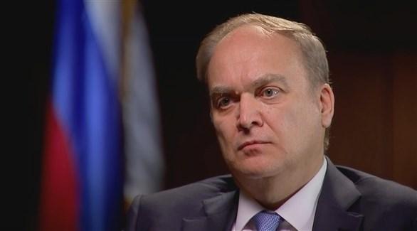 السفير الروسي لدى واشنطن أناتولي أنطونوف (أرشيف)
