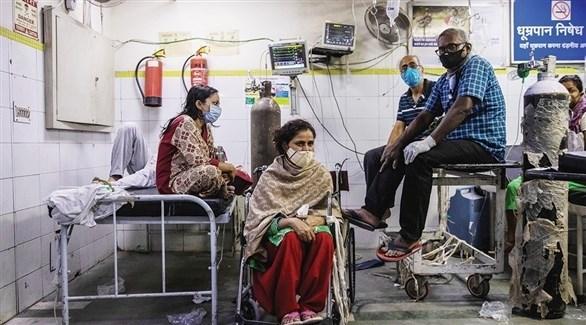 الهند تسجل أكثر من 44 ألف إصابة جديدة بكورونا