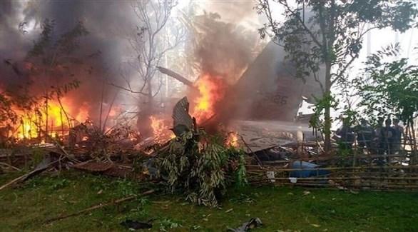 تحطمت الطائرة جنوبي الفلبين (تويتر)
