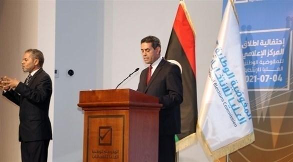 رئيس المفوضية الوطنية العليا للانتخابات في ليبيا عماد السايح (تويتر)