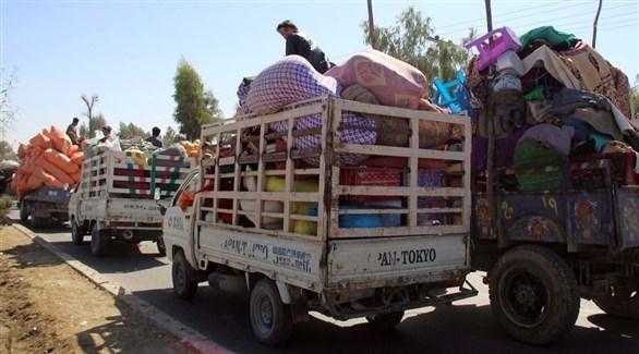 أفغان ينزحون إلى مناطق بعيدة هرباً من بطش طالبان (أرشيف)