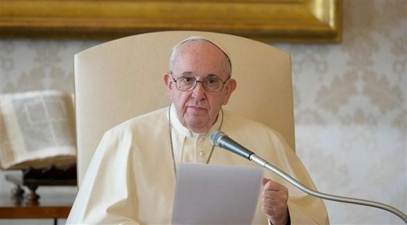 بابا الفاتيكان فرانسيس (رويترز)