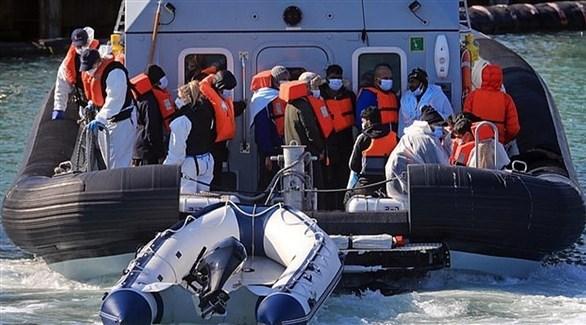 سفينة بريطانية لمكافحة حركة المهاجرين (أرشيف)