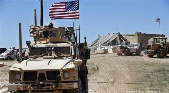 آليات عسكرية أمريكية في سوريا (أرشيف)