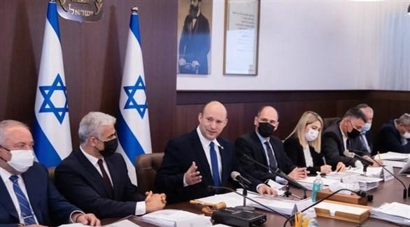 جلسة للحكومة الإسرائيلية (أرشيف)