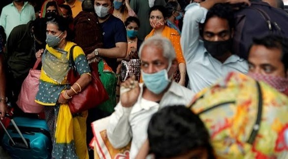 الهند تسجل 45892 إصابة جديدة بكوورنا و817 وفاة