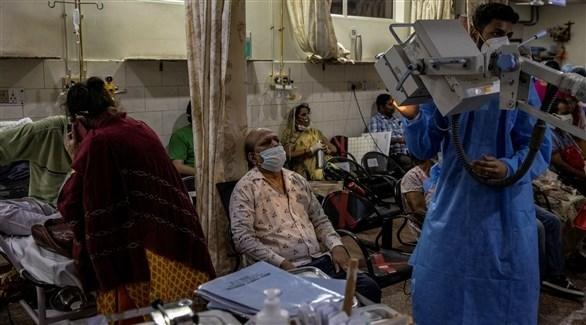 440 وفاة و35 ألف إصابة جديدة بكورونا في الهند