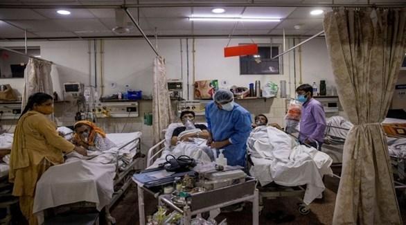 الهند تسجل 34457 إصابة جديدة بكورونا