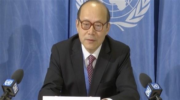 مبعوث الصين لدى الأمم المتحدة في جينيف تشين شو (أرشيف)