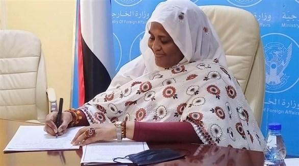 وزيرة الخارجية السودانية مريم الصادق المهدي (أرشيف)