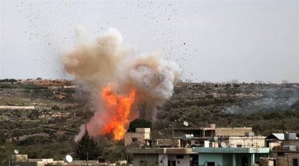 انفجار سابق في إدلب السورية (أرشيف)