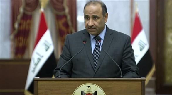 المتحدث الرسمي باسم الحكومة العراقية وزير الثقافة حسن ناظم  (أرشيف)