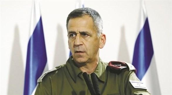 رئيس الأركان الإسرائيلي الجنرال أفيف كوخافي (أرشيف)