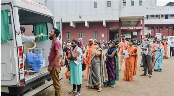 الهند تسجل أكثر من 45 ألف إصابة بكورونا