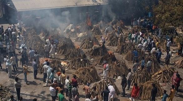 الهند تسجل 44643 إصابة جديدة بكورونا