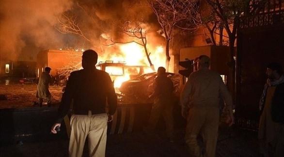 مقتل وإصابة 14 شرطياً في تفجير بباكستان