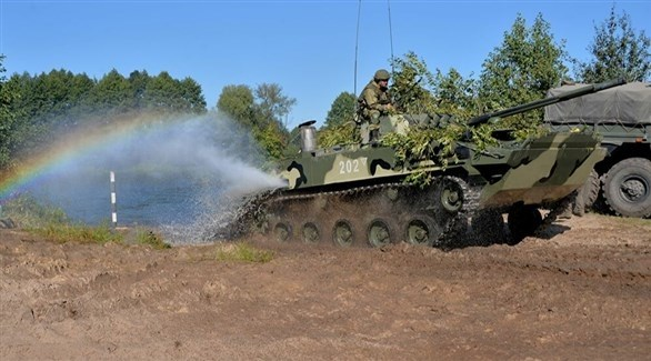مناورات عسكرية سابقة بين روسيا وبيلاروسيا (أرشيف)