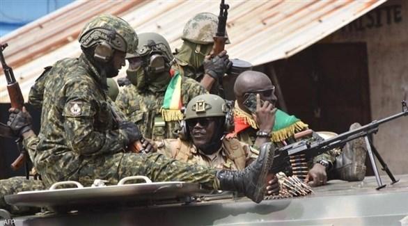 قوات عسكرية تنتشر بعد الانقلاب في غينيا (أرشيف)