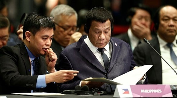 الرئيس الفلبيني رودريغو دوتيرتي (أرشيف)
