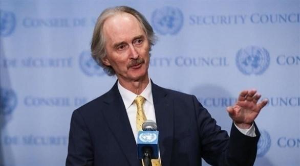 المبعوث الخاص للأمم المتحدة إلى سوريا غير بيدرسون (أرشيف)