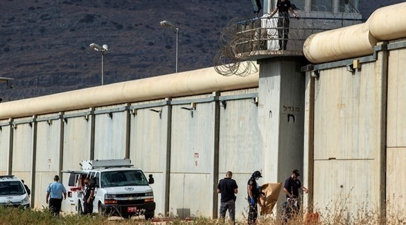 فرق أمنية إسرائيلية في محيط سجن جلبوع عقب عملية النفق (أرشيف)
