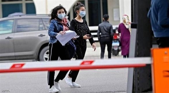 مراجعون أمام مستشفى في لبنان (أرشيف)