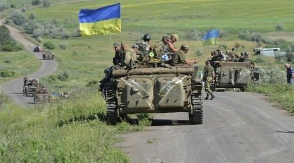جنود وآليات للجيش الأوكراني (أرشيف)