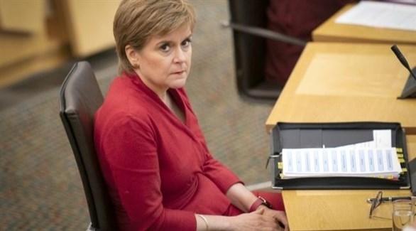 رئيسة وزراء اسكتلندا نيكولا ستورجون (أرشيف)