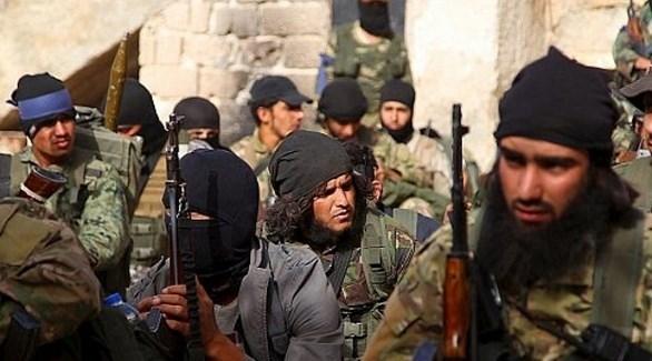 مسلحون من جبهة النصرة الإرهابية في سوريا (أرشيف)